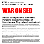 google-declares-war